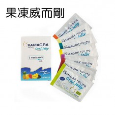 液體狀威而鋼 7小包 Kamagra Oral Jelly 100 mg (Sildenafil 100mg)